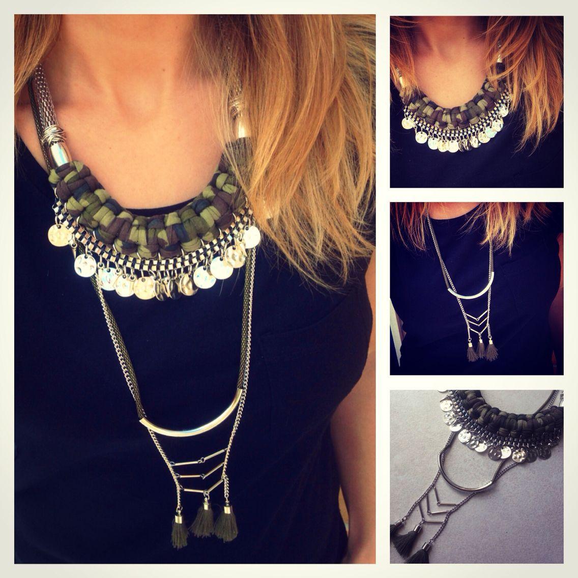Statement necklace By Cuca #statement #maxicolar #statementnecklace maxicolares statementnecklace