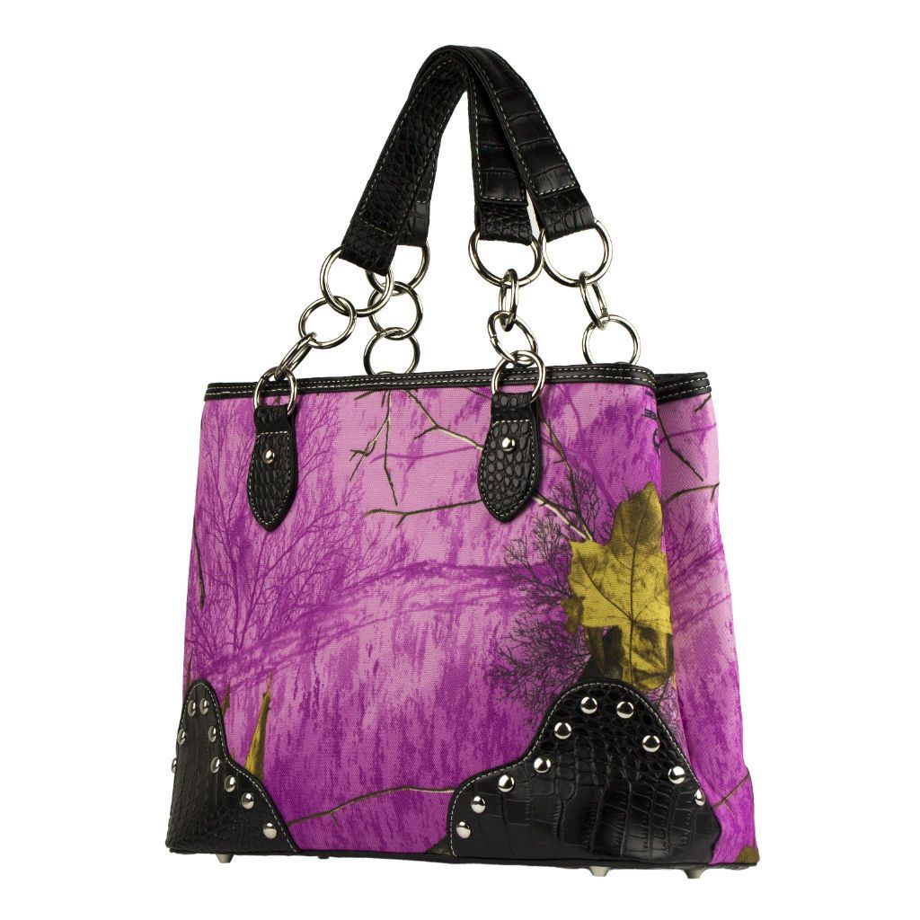 Realtree Camo Handbag in Wild Orchid | Products