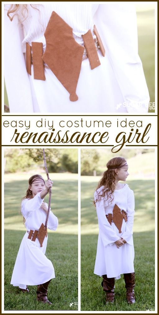 diy costume idea - - belt - - for a resaissance girl  sc 1 st  Pinterest & Easy Costume Idea - Renaissance Girl | Diy costumes Costumes and Girls
