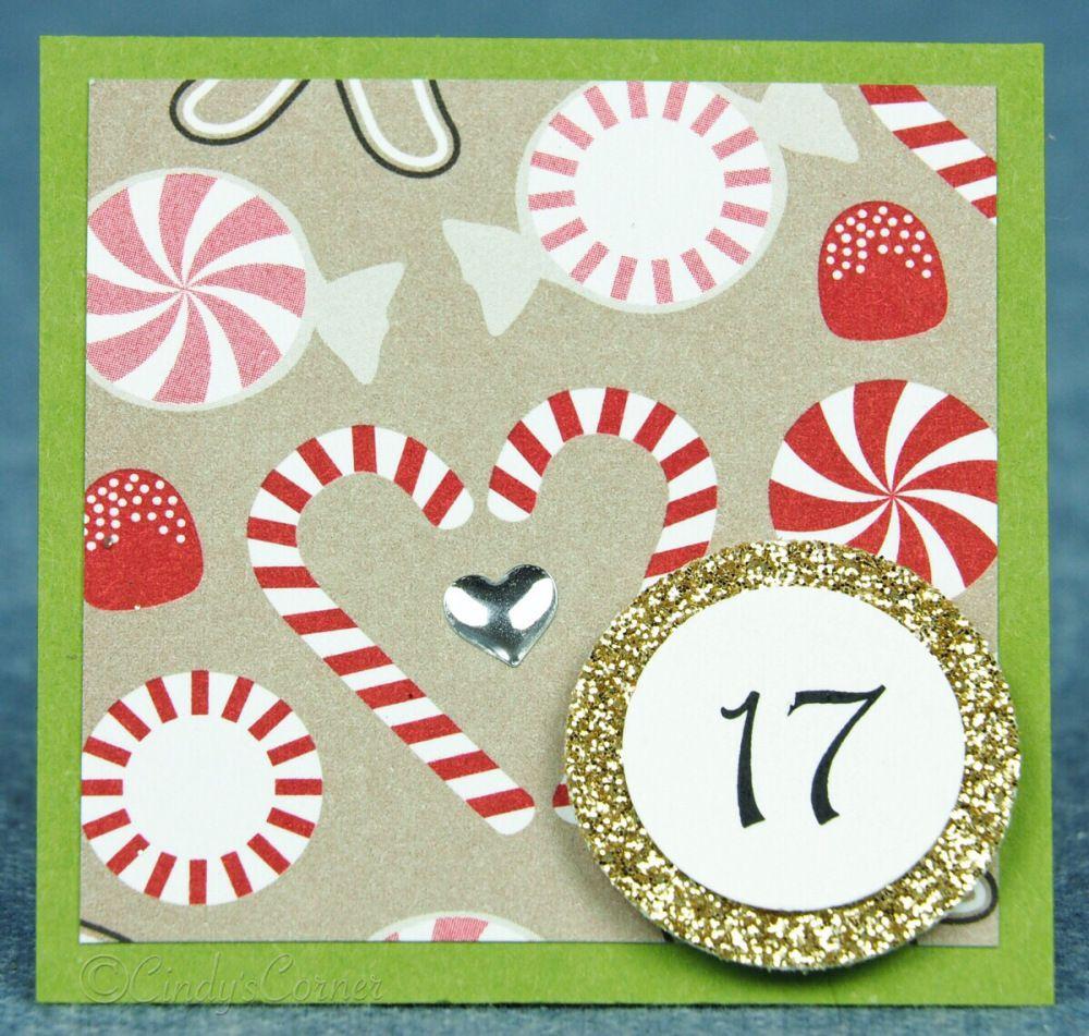 Advent Calendar Countdown to Christmas Day 17
