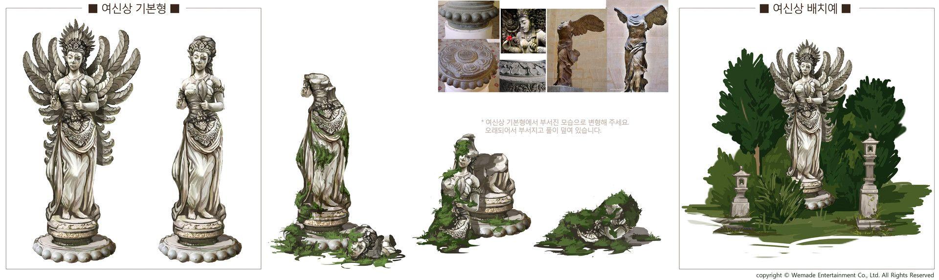 ArtStation - Juma island, Autumn(GaEul) Kwon