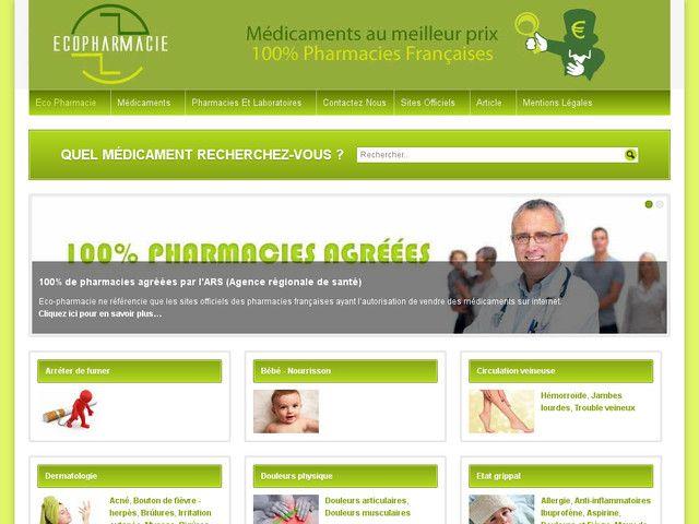 Comparer les prix des médicaments des pharmacies Françaises Notre site vous permet de faire jusqu'à 30% d'économie pour vos achats de médicaments. Il indique bien de vous rapprocher de votre médecin ou pharmacien si vous avez besoin de conseils. Les pharmacie en ligne France sur notre sont référencées que les officines autorisées par l'ARS. Tous les médicaments proposés par les pharmacies sont délivrés sans ordonnance.
