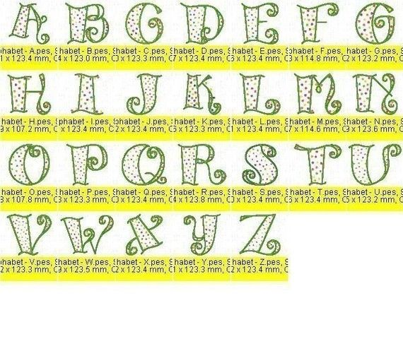 Pin By Cas Ey On Embroidery Fonts Fonts Alphabet Lettering Embroidery Fonts