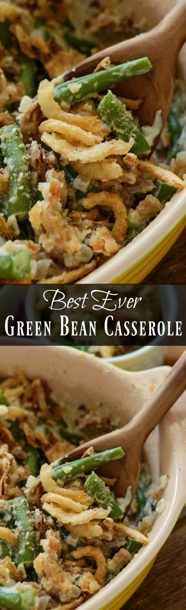 The Best Green Bean Casserole | A 5 Star Easy Recipe!