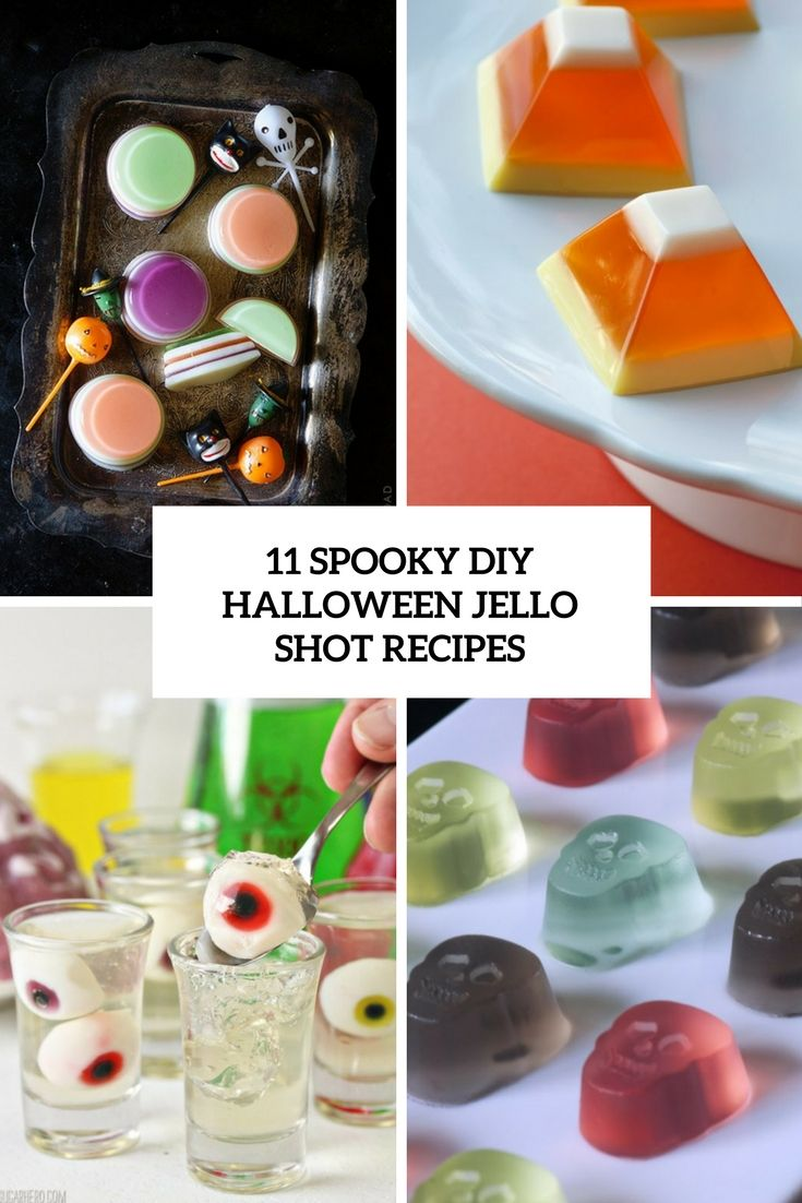 Spooky DIY halloween jello shot recipes | Halloween DIY Projects ...
