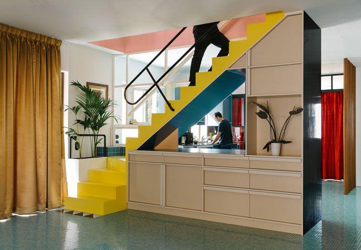 Arredamento Postmoderno ~ Memphis bathroom vintage interiors pinterest memphis