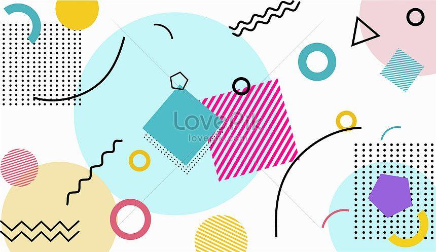 Bahan Latar Belakang Abstrak Geometris Abstrak Latar Belakang Ilustrasi