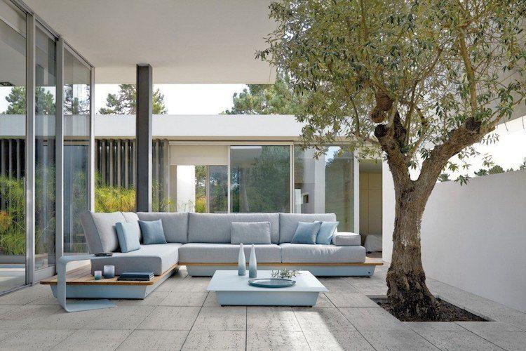 Salon jardin design et idées de décoration originale assortie ...