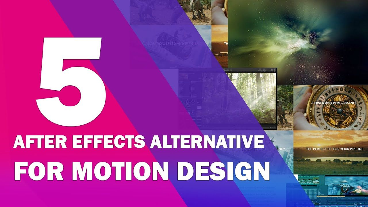 New 5 After Effects Alternative For Motion Design In 2020 Motion Design Motion After Effects