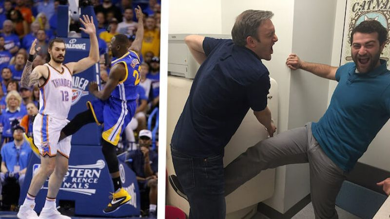 NBA Sets Precedence CoWorkers Can Now Kick Each Other In