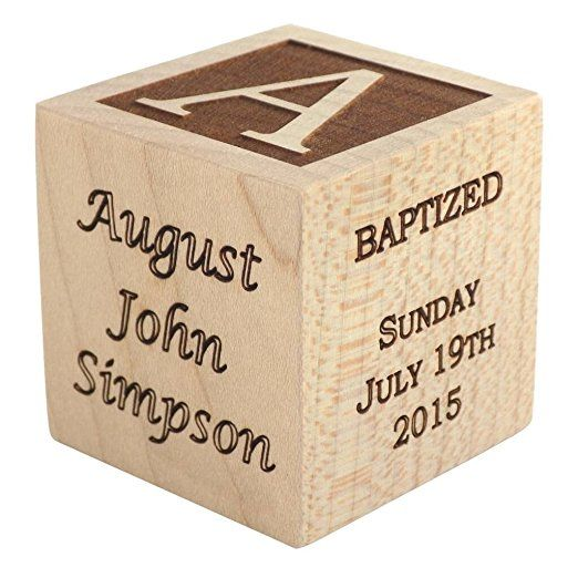Personalized baby baptism gifts baptism wood block baptism gifts personalized baby baptism gifts baptism wood block baptism gifts for godparents baby boy negle Gallery