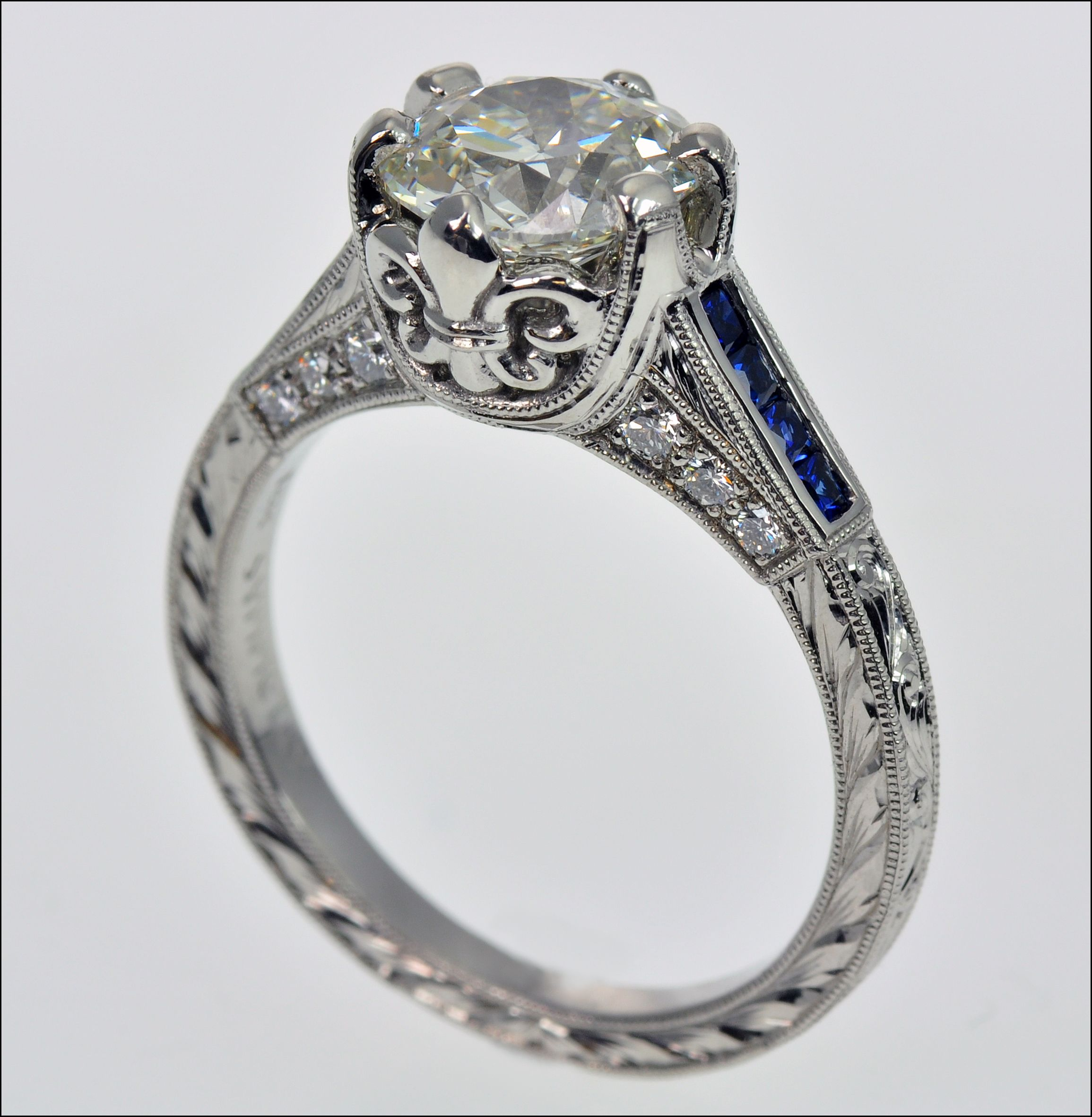 diamond ring jewellery of designer halo platinum designs engagement product picture tacori
