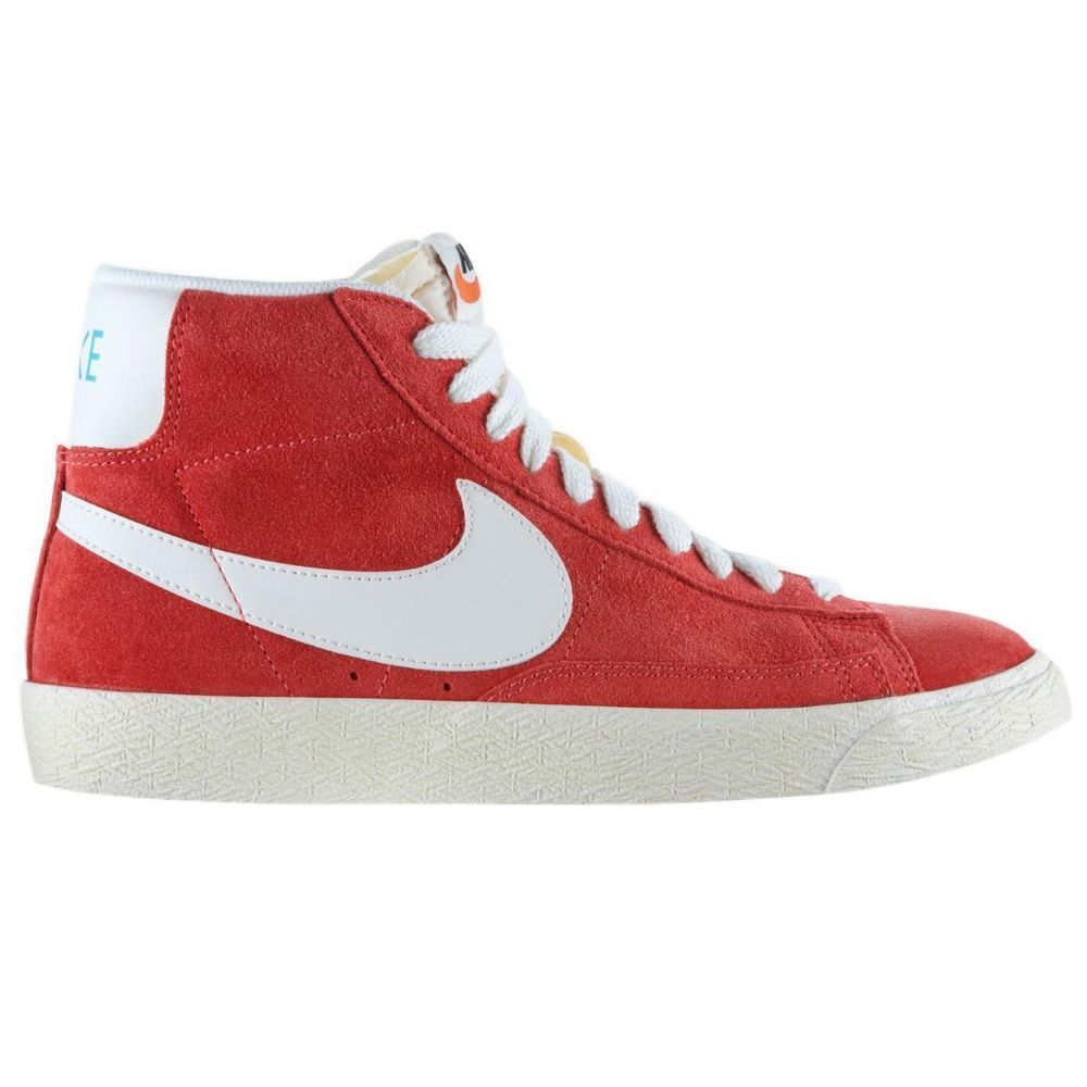 Nike Blazer Mid Suede Vintage Damen Sneakers Turnschuhe High-Top Blau Rot ·  Nike StoreVintage ShoesWomen ...