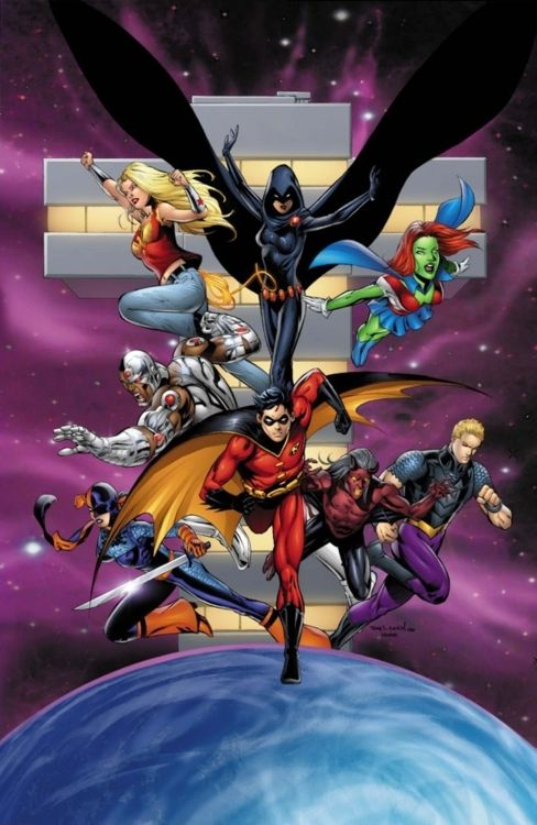 Teen titans marvel