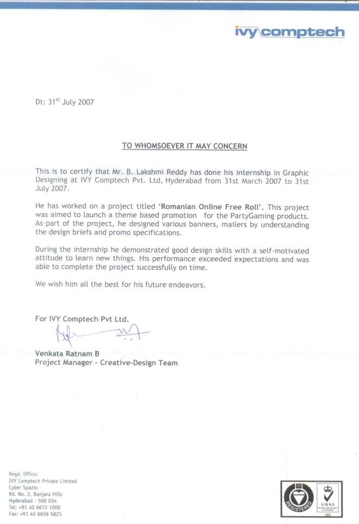 intern certificate request letter internship uncategorized trrain