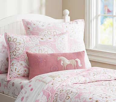 Image result for unicorn bedding pottery barn kids | Lex & Charm