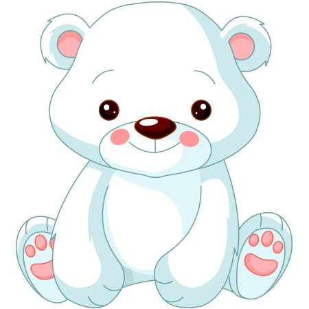 Sweet Polar Bear Baby Clip Art Bear Cartoon Images Polar Bear Cartoon