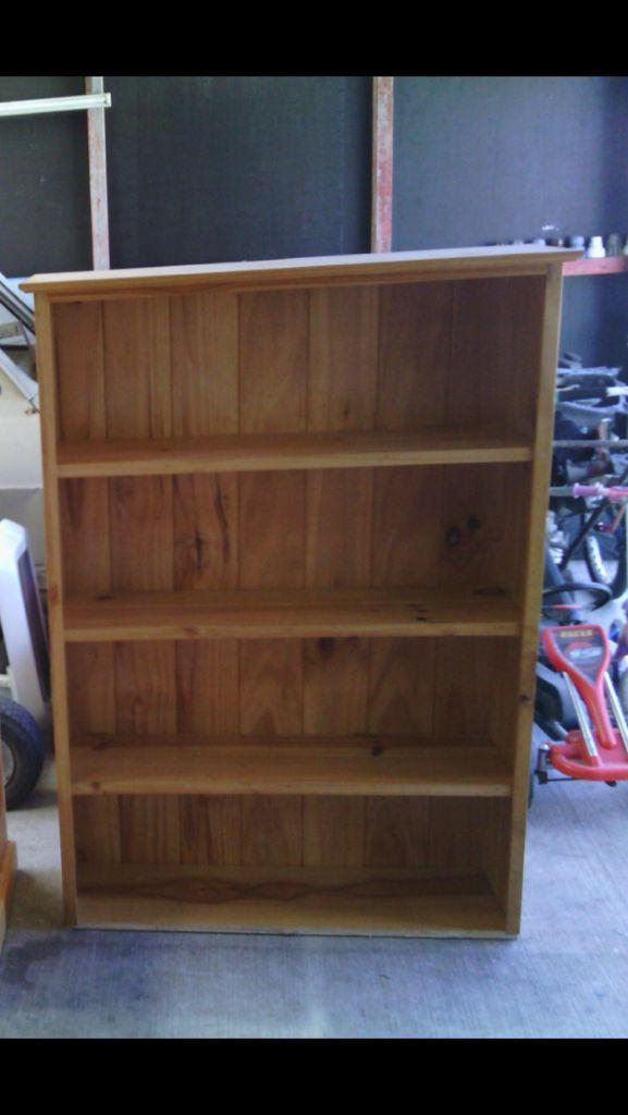 Shelf get cut in half to make two storage draws