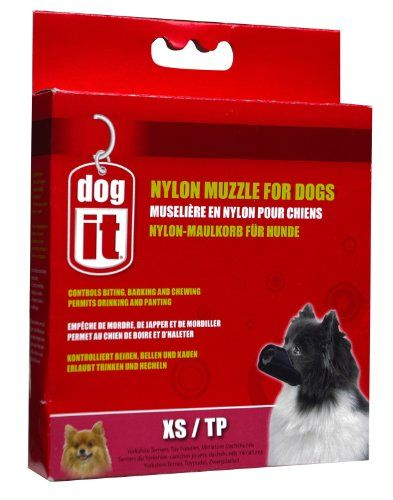 Dogit Nylon Dog Muzzle Black XSmall39Inch >>> Check this awesome product by going to the link at the image.Note:It is affiliate link to Amazon.
