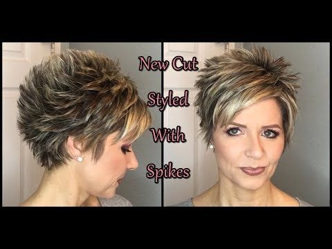 Youtube Short Spiky Hairstyles Spiked Hair Hair Styles