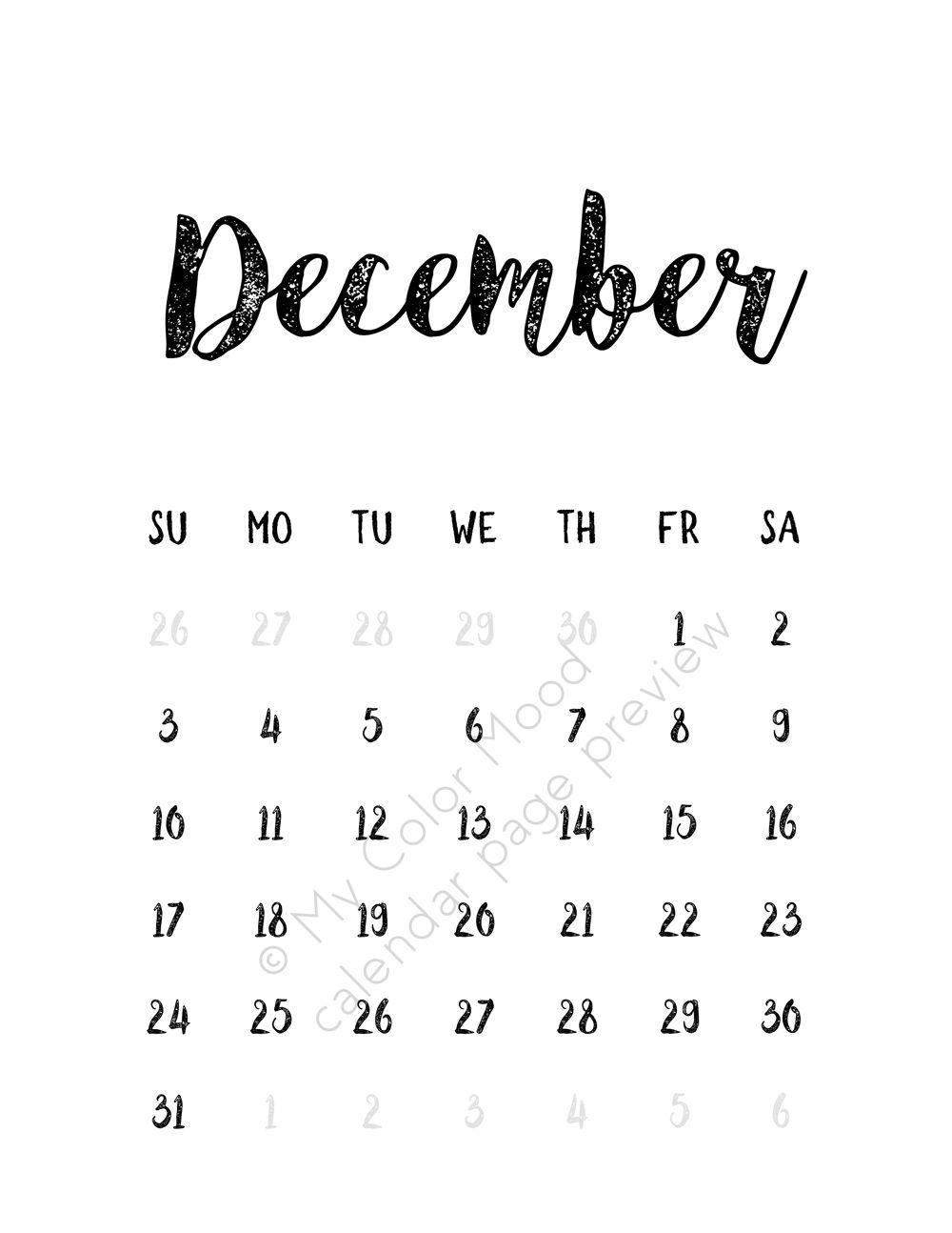 2017 16 printable calendar