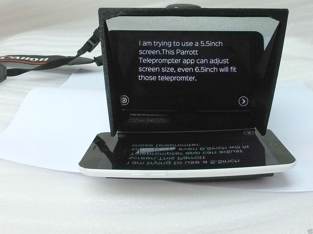 Cheap Splitter Glass Teleprompter for iPhone 6 7 8 X
