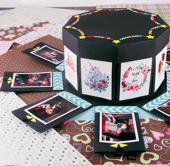 EBG-Explosion box, Valentine's Day decorations, Valentine's Day gifts, wife's Valentine's Day gift,