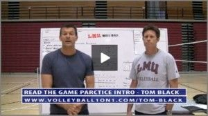 Http Www Volleyball1on1 Com Bill Harrison On Reading The Game Reading The Game Is Describe Volleyball Practice Plans Coaching Volleyball Volleyball Practice