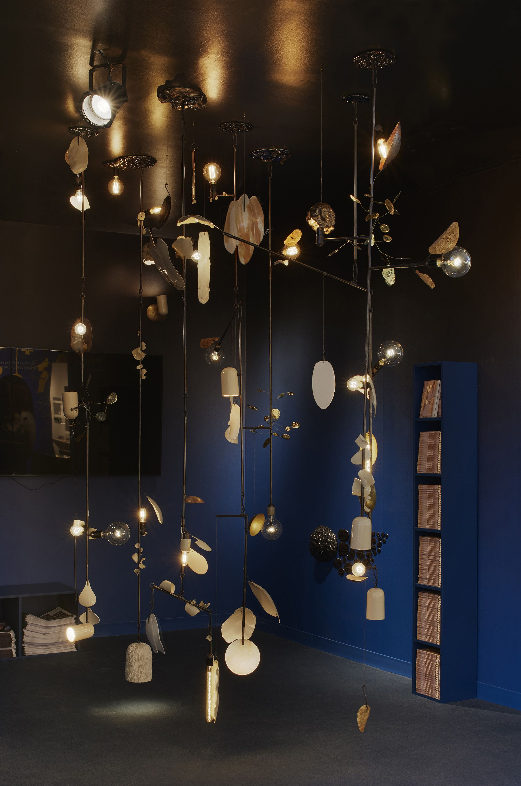 Aurora Well Installed At Lindsey Adelmans Booth At Design Miami - Alotof-design-group-wins-admirers-at-salonesatellite-show