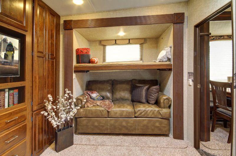 Marvelous Avalanche Rv By Keystone 361Tg Second Bedroom Vintage Interior Design Ideas Gentotryabchikinfo