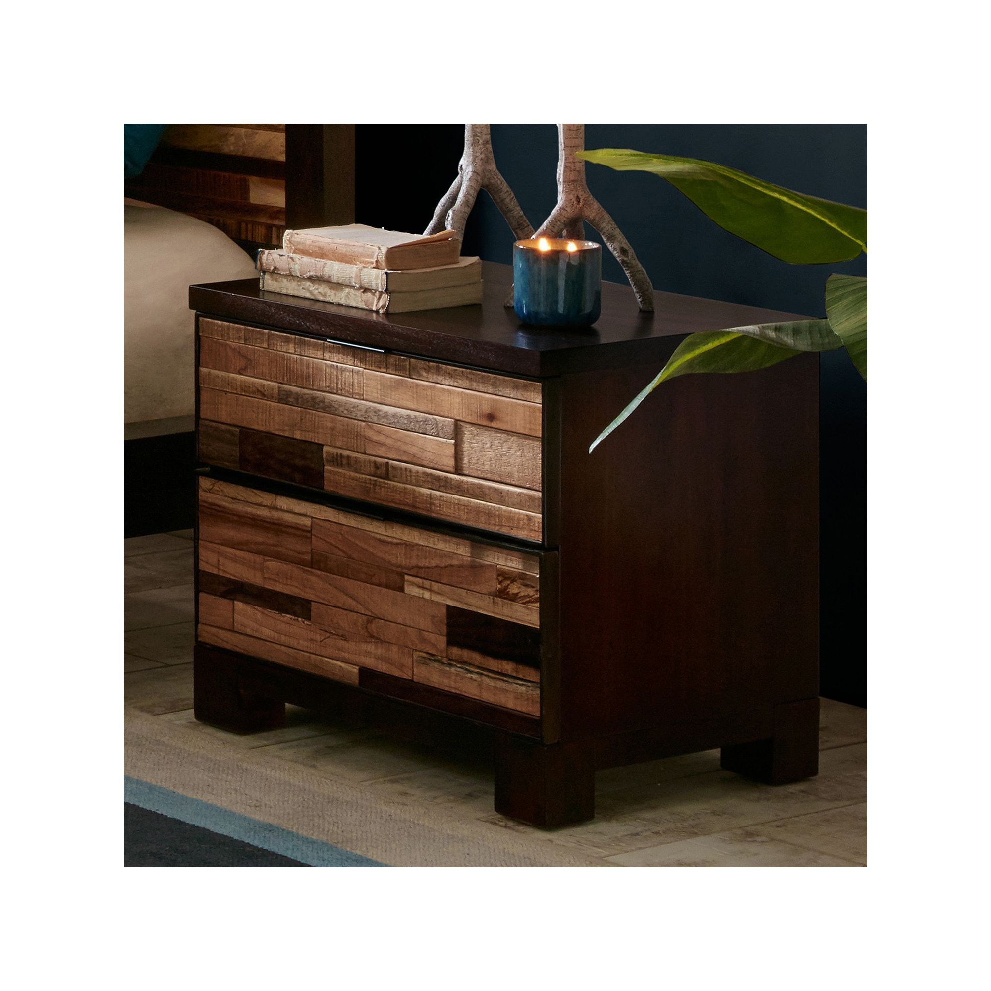 innovative kitchen cabinets ink tavarua mosaic 2 drawer nightstand other clrs 17854