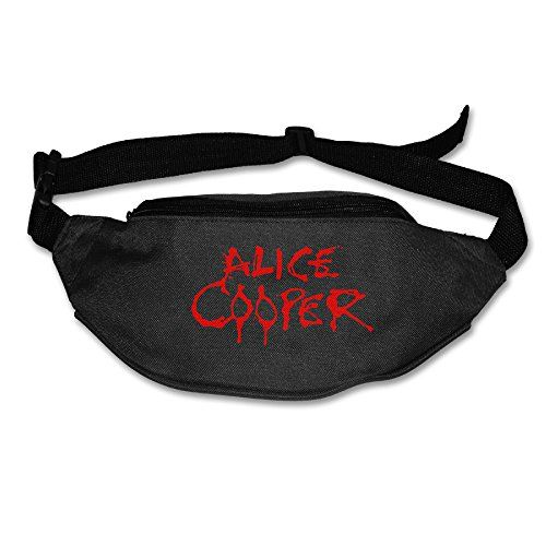 Print Alice Cooper Red Canvas Waist Strap Sports Storage Belt * More info could be found at the image url.(This is an Amazon affiliate link and I receive a commission for the sales)