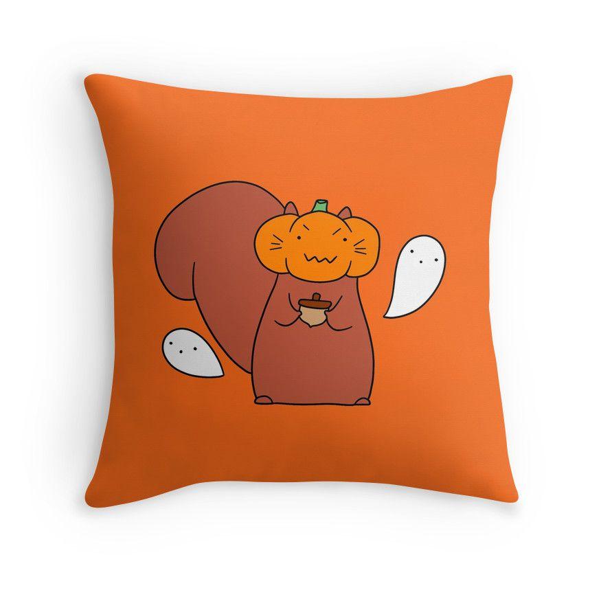 Ghost Pumpkin Squirrel