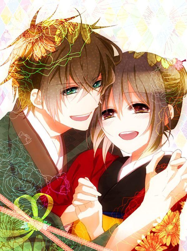 heisuke x chizuru hakuoki pinterest anime manga and