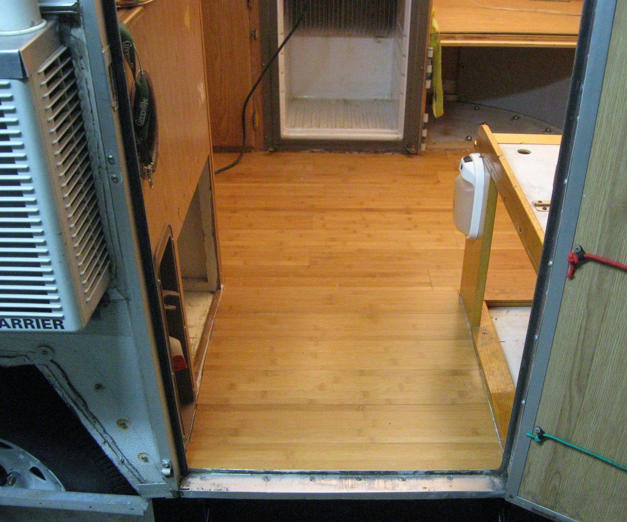 Replace Rotten Camper Floor | Camper flooring, Popup ...