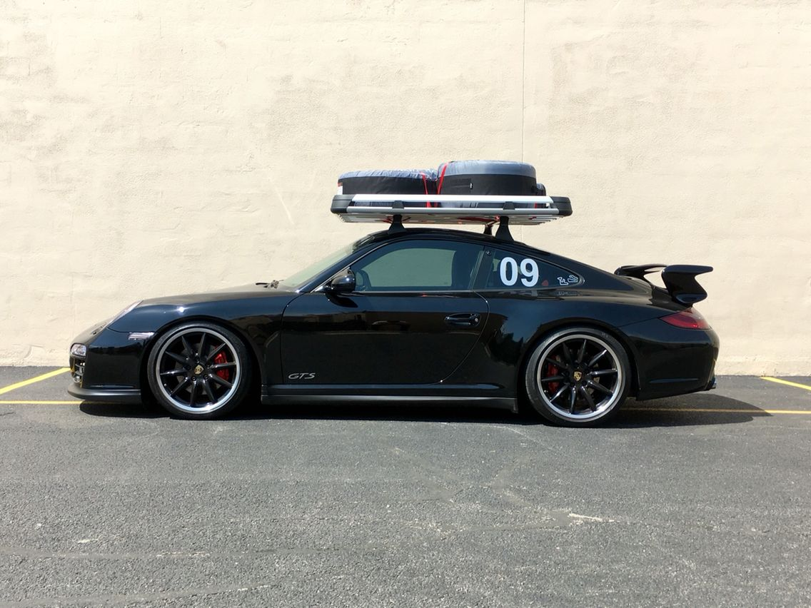 Roof Rack For Track Tires Rennlist Discussion Forums Roof Rack Porsche Roof Box