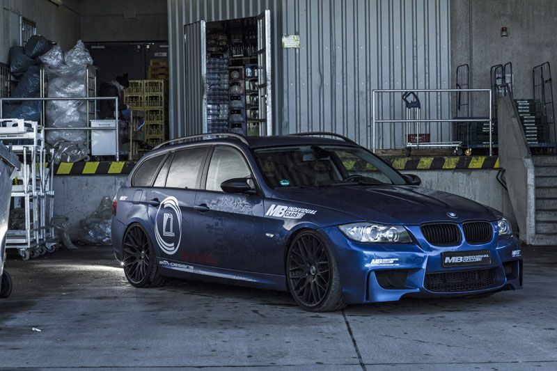 BMW E91 335i Touring blue  BMW Horse Power  Pinterest  Cars