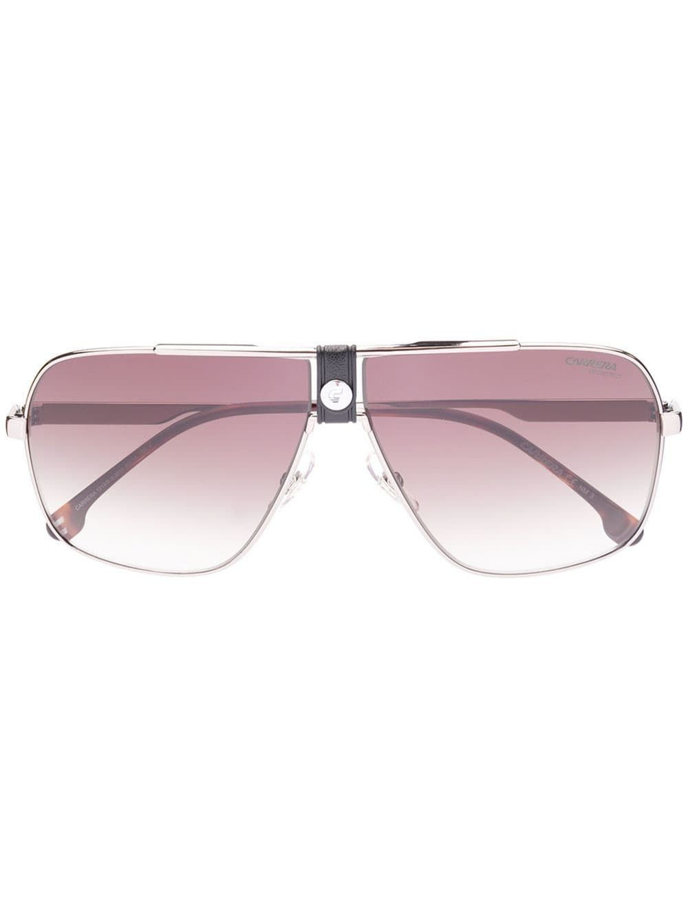 dc24a79433d4 Carrera rectangle aviator frame sunglasses - Brown in 2019 ...