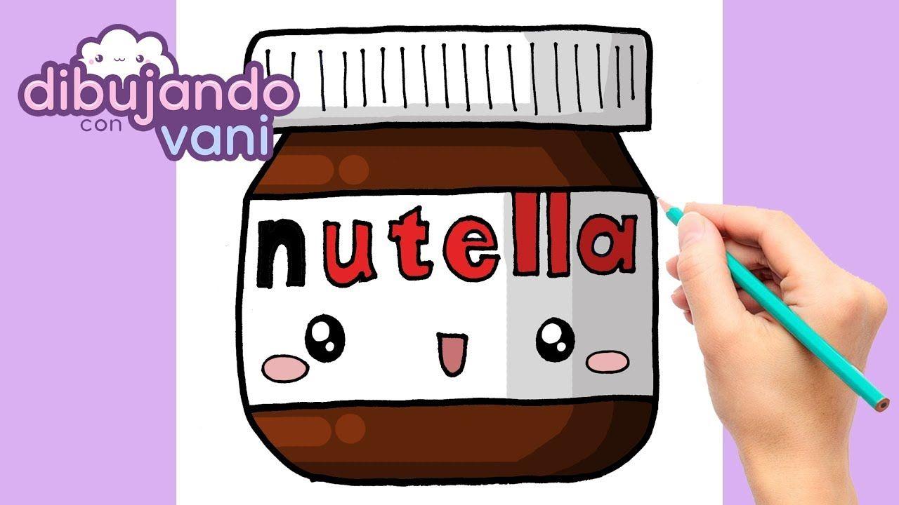 Como Dibujar Nutella Kawaii Dibujos Imagenes Faciles Anime De Comida P Nutella Kawaii Como Dibujar Kawaii
