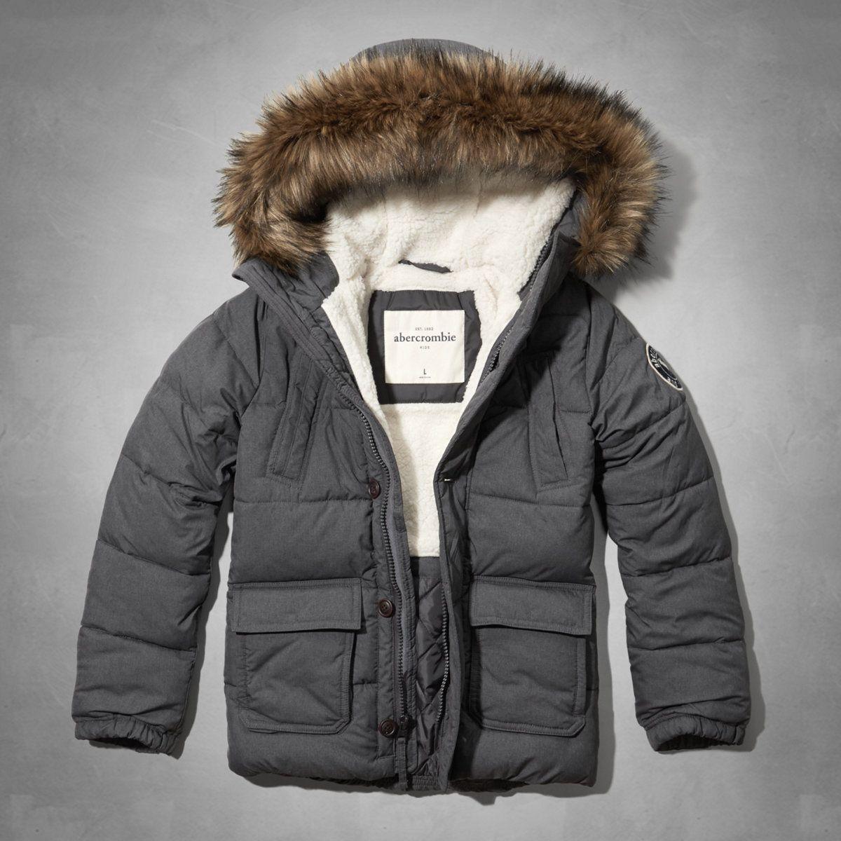 Boys Sherpa Lined Puffer Jacket Boys New Arrivals Abercrombiekids Com Boys Jacket Boy Outerwear Boys Coat [ 1200 x 1200 Pixel ]