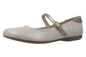 JOSEF SEIBEL Damen Ballerinas Fiona 25 Weiß Schuhe in