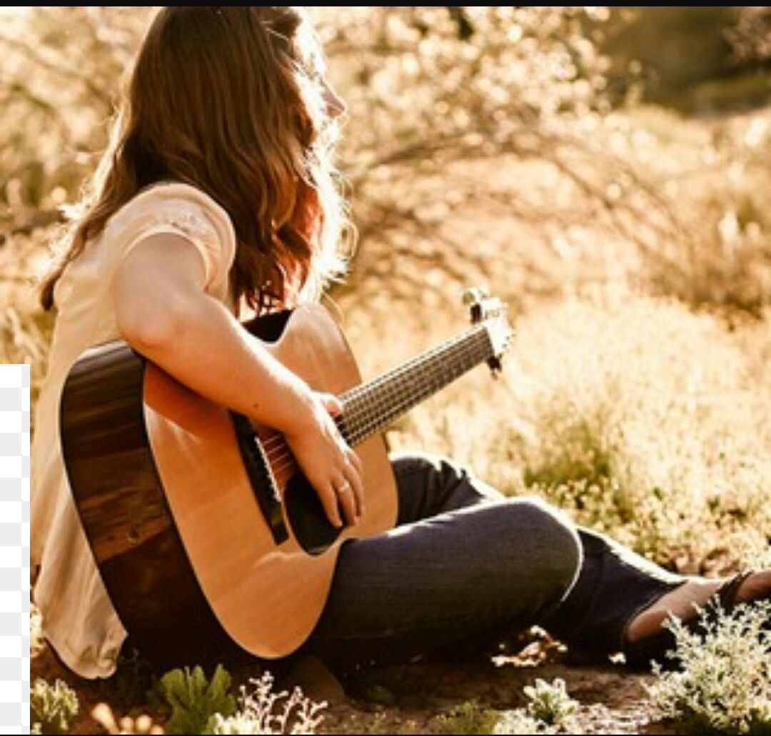 Beautiful Girl With Guitar Hd Wallpapers Girls Who Plays Guitar Are Really Cool Girls Dp Rock