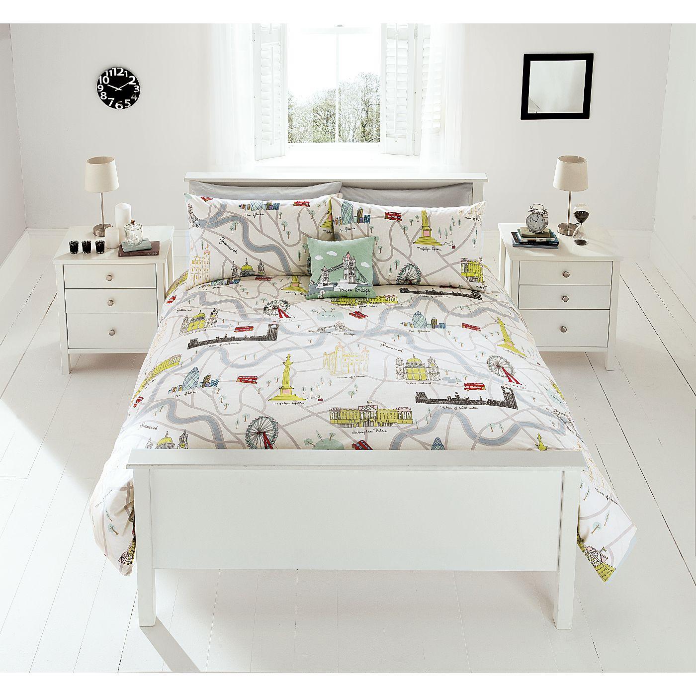 Home Illustrative London Duvet Range Bedding