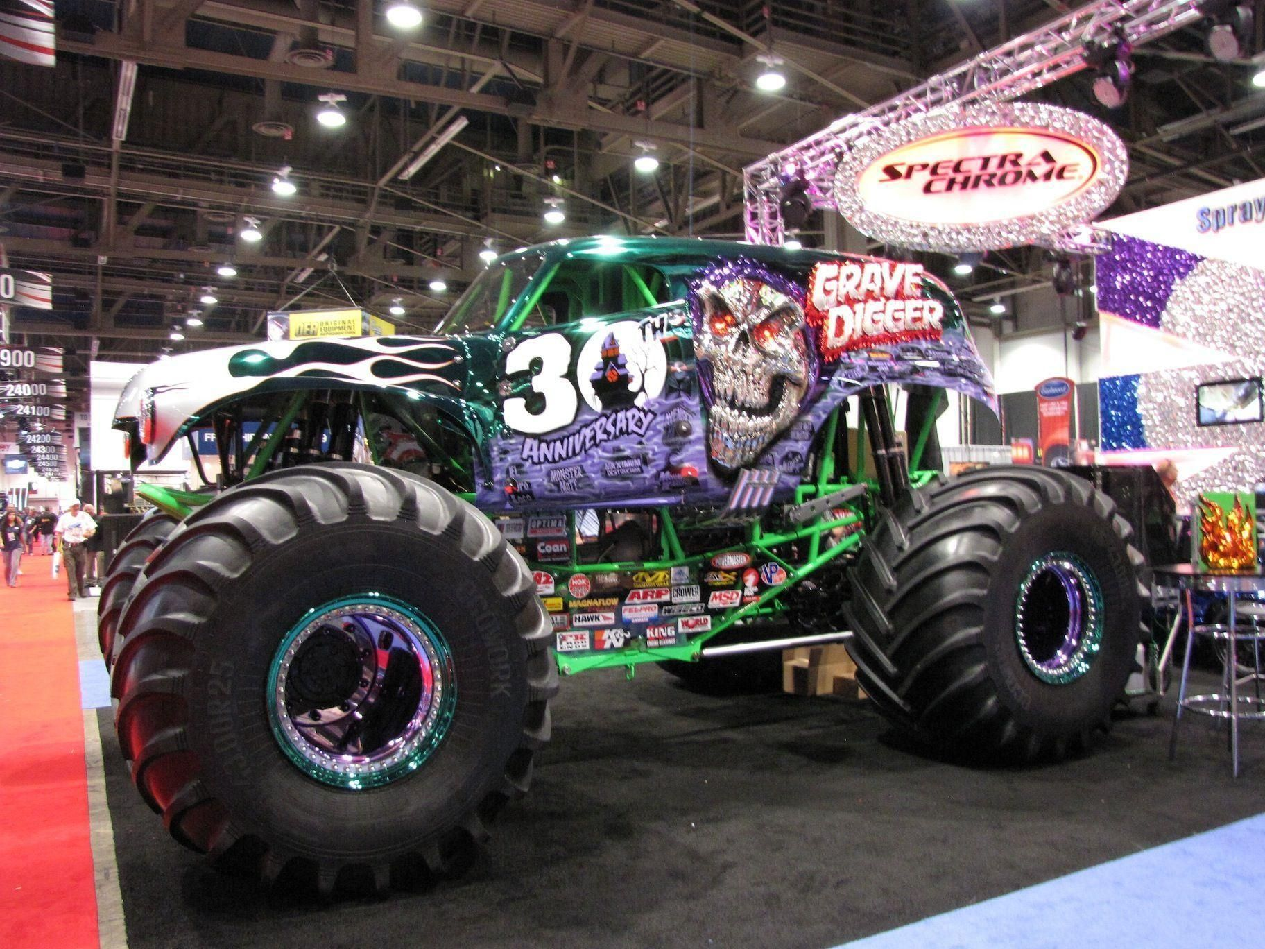 Monster Truck Grave Digger Wallpapers Wallpaper Cave Monster Trucks Monster Truck Art Trucks