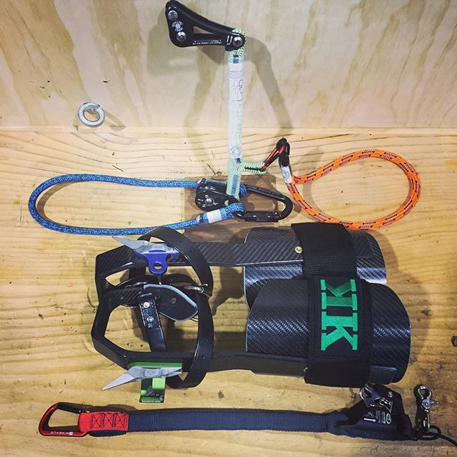 This Pimped Out Srt Kit Is Off To A Customer In Canada Dark Grey Ropewrench Kit By Isc Wales With Rockexotica Usa Pirate Arborist Work Gear Climbing