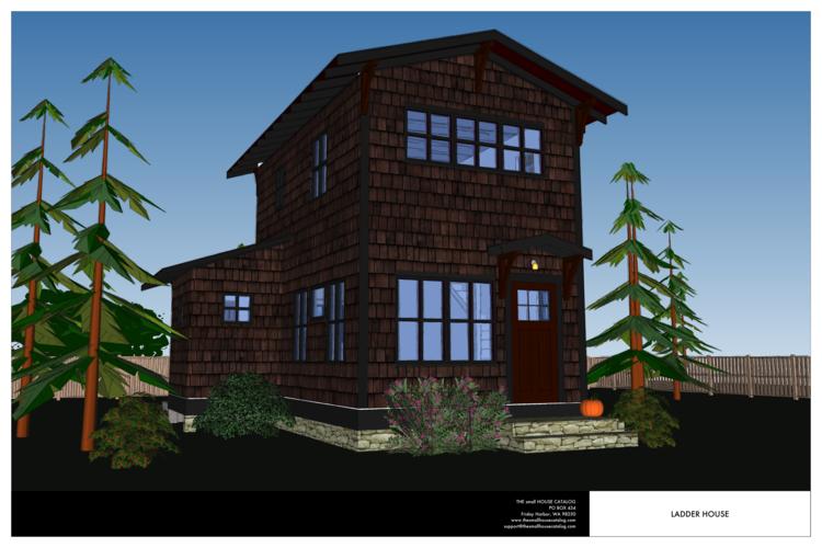 No. 21 Ladder House Small house catalog, Diy tiny house