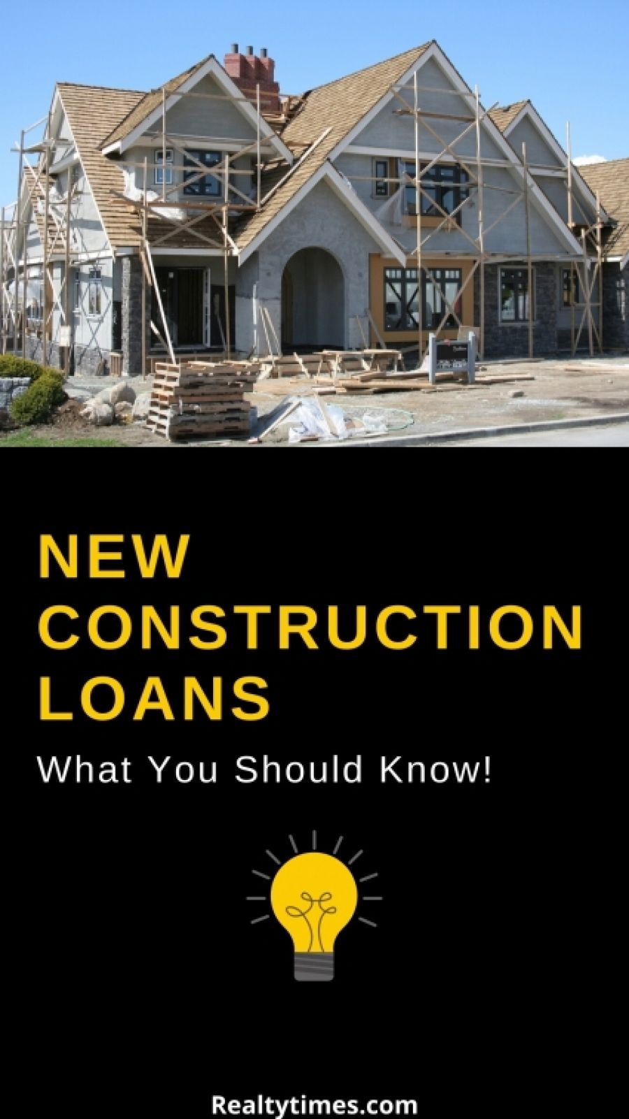 Home Construction Loans What You Need To Know Realty Times In 2020 Construction Loans Real Estate Advice Real Estate Marketing
