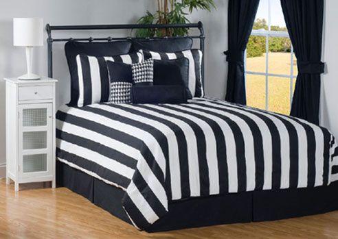 Black White Striped Comforter Comforter Sets Daybed Sets Full Comforter Sets