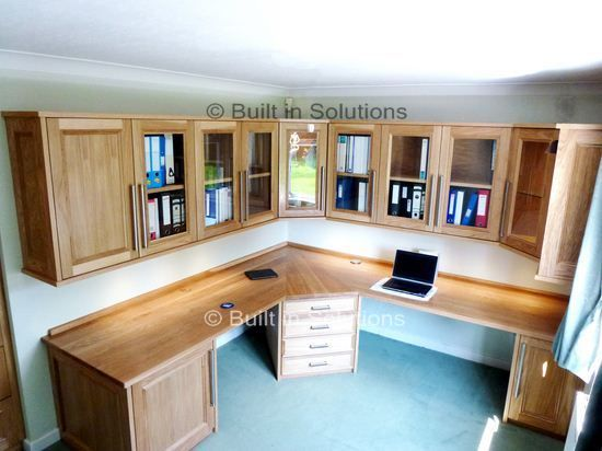 Fitted Office Furniture Study Pinterest Study Design Bespoke Design And Small Rooms