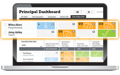 TalentEd Perform - online teacher evaluation system